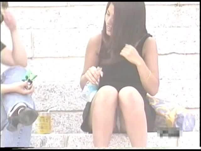 <パンツちら無断撮影画像>魅惑のデルタゾーンVol2私服編7