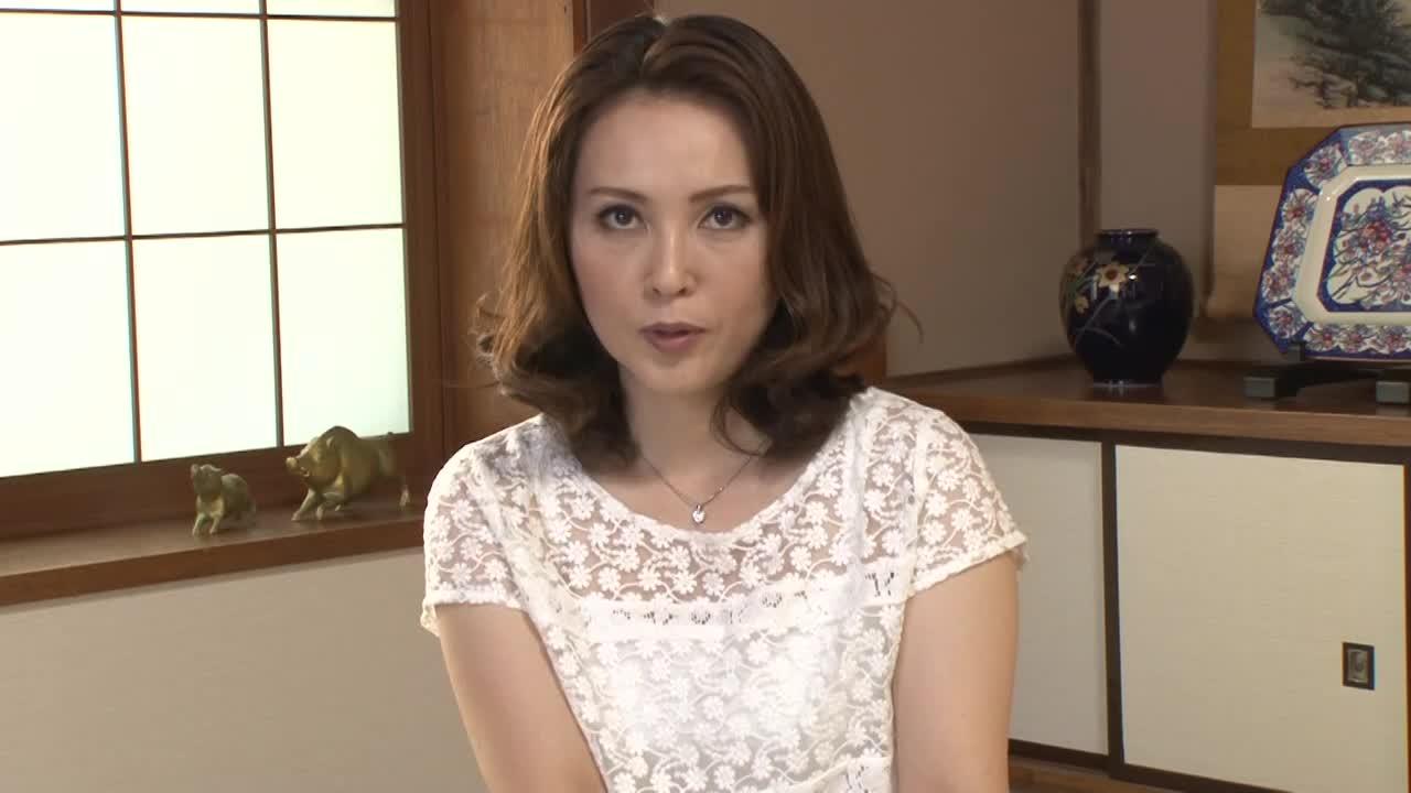 【国生亜弥/四十路】素人の美熟女がアダルトビデオに出演するAVデビューする企画